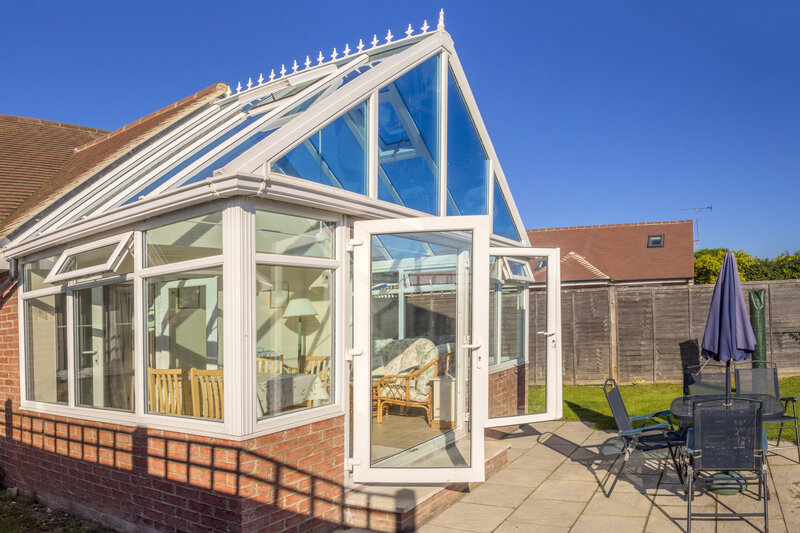 Glass Conservatory in Colchester Essex